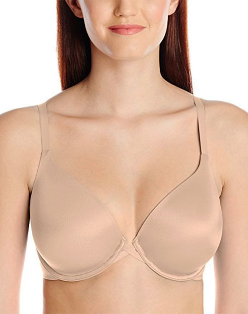 7314dea92 Amazing Assets Back Smoothing T-Shirt Bra in Sand