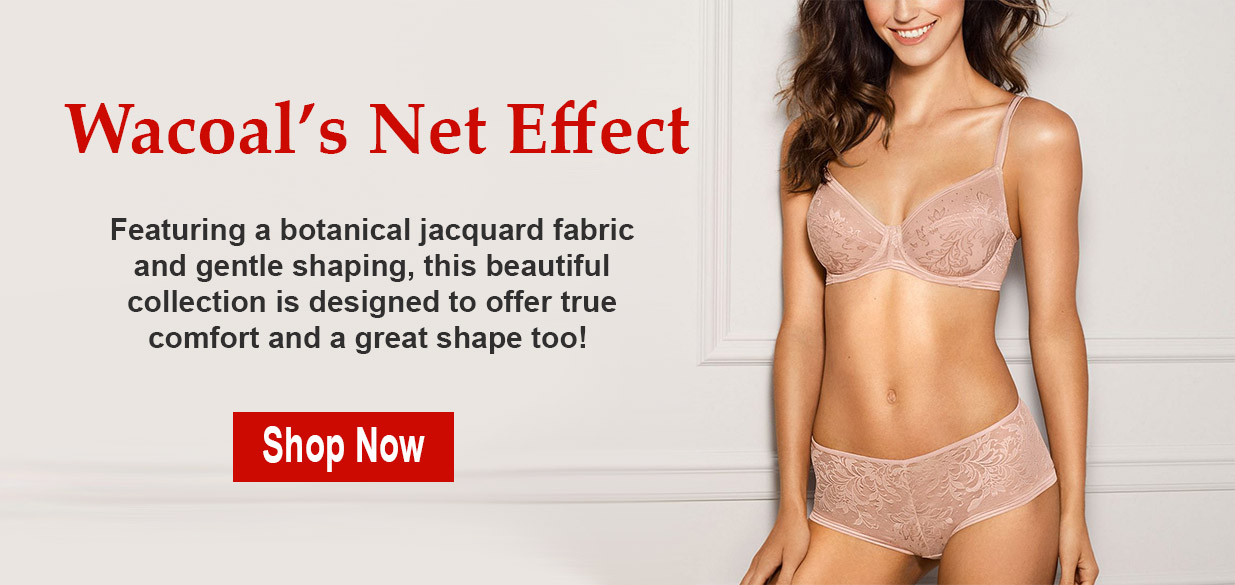Wacoal Net Effect Bras and Panty
