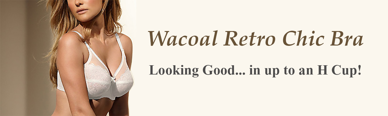 Wacoal Best Seller - Looking Good in Retro Chic!