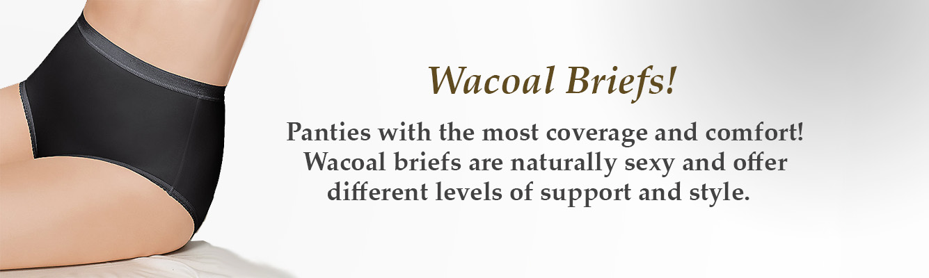 Brief Panties by Wacoal