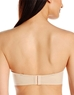 Amazing Assets Strapless Push Up Bra, Back View in Sand