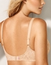 Awareness Full Figure Seamless Soft Cup Bra, back in Sand