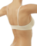 Wacoal B-Smooth Seamless Bralette, 3/4 Back View in Natural Nude