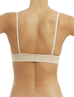 Wacoal B-Smooth Seamless Bralette, Back View in Natural Nude
