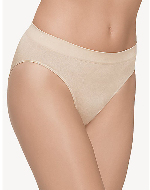 B-Smooth Seamless Hi-Cut Brief in Sand