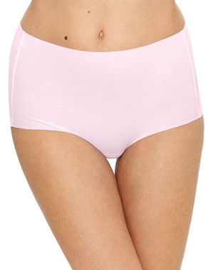 Beyond Naked Cotton Blend Brief in Lilac Snow