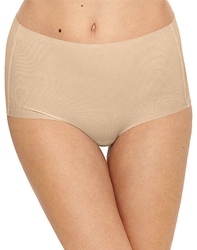 Beyond Naked Cotton Blend Brief in Sand