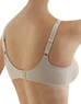 Bodysuede Ultra Full Figure Seamless Underwire Bra, 3/4 Back View