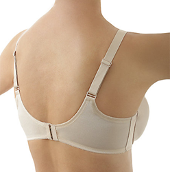 Elegance Hidden Underwire Minimizer Bra, 3/4 Back View