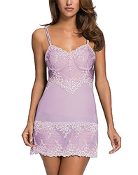 Embrace Lace Chemise in Lavender