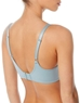 Flawless Comfort T-Shirt Bra, Back View in Slate