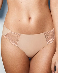 Lace Impression Hi-Cut Brief in Brush