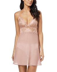 Lace Perfection Chemise in Rose Mist