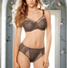 Retro Chic Full Figure Underwire Bra with Matching Panty