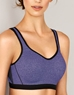 Wacoal Sport Underwire Bra in Violet Indigo/Heather