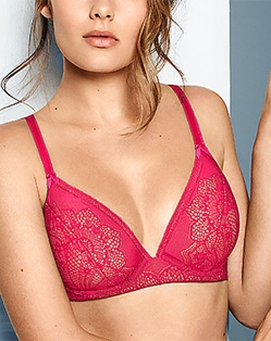 Take The Plunge Underwire Bra in Love Potion