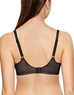 Wacoal Visual Effects Wire Free Minimizer Bra, Back View in Black
