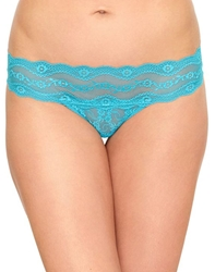 b.temptd Lace Kiss Bikini in Peacock Blue