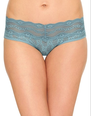 Lace Kiss Hipster in Smoke Blue