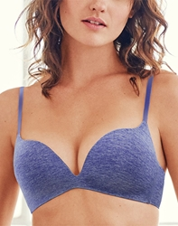 b.splendid Wire Free Push Up Bra in Starry Night Heather