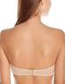 b.tempt'd Faithfully Yours Strapless Bra in Au Natural, Back View