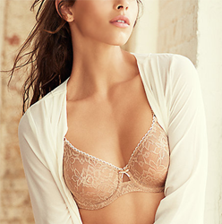 Full Bloom Underwire Bra in Au Natural
