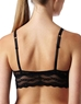 b.tempt'd Lace Kiss Bralette, Back View in Night