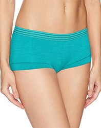 b.temptd Spectator Boyshort in Peacock Blue