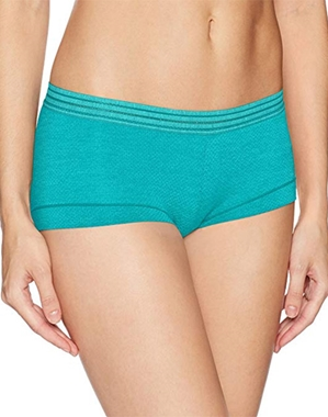 b.tempt'd Spectator Boyshort in Peacock Blue