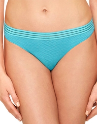 b.temptd Spectator Thong in Peacock Blue