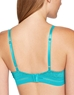 B.Tempt'd Spectator T-Shirt Underwire Bra, Back View in Peacock Blue