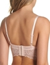 b.tempt'd Undisclosed 3/4 Underwire Bralette, Back View in Rose Smoke