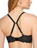 B.Tempt'd Undisclosed Underwire T-Shirt Bra, Back View with J-Hook in Night