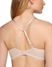 B.Tempt'd Undisclosed Underwire T-Shirt Bra, Back View with J-Hook in Rose Smoke