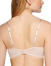 B.Tempt'd Undisclosed Underwire T-Shirt Bra, Back View in Rose Smoke