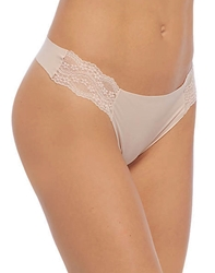 b.temptd b.bare Thong Panty in Rose Smoke