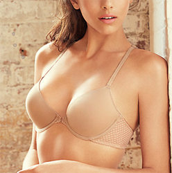 b.captivating Underwire Front-Close T- Shirt Bra in Au Natural