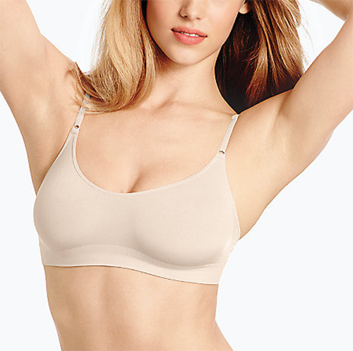Wacoal B-Smooth Seamless Bralette in Natural Nude