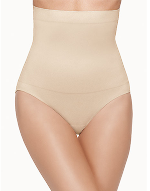 Sensational Smoothing Hi-Waist Shape Brief in Natural Nude