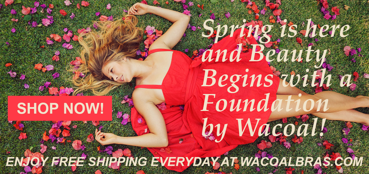 Free Shipping on all Wacoal Bras, Panties, Shapewear and Lingerie!