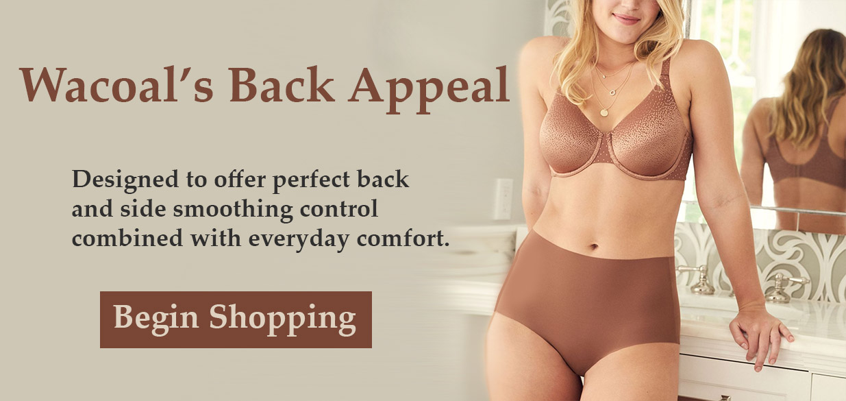 Wacoal Back Appeal - Back and Side Smoothing Control!