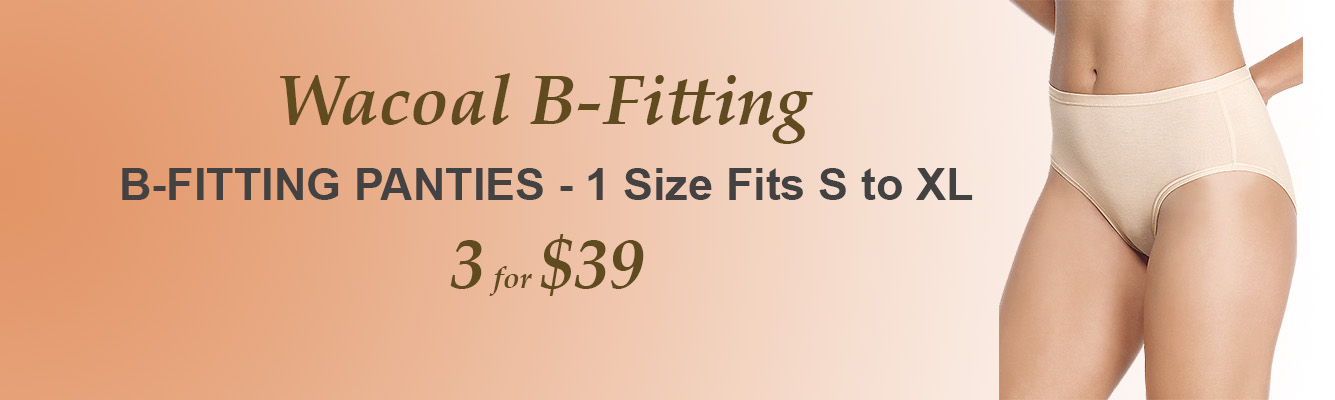 B-Fitting by Wacoal, Panties and Bralette