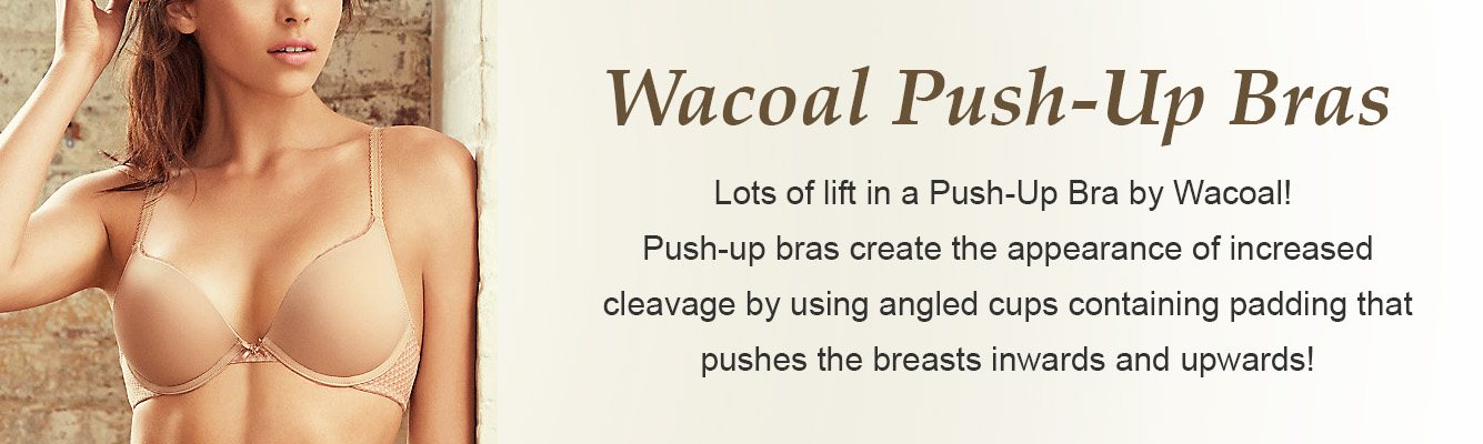 Push-Up Bras by Wacoal
