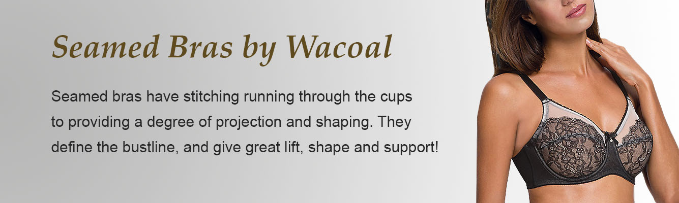 Seamed Bras by Wacoal