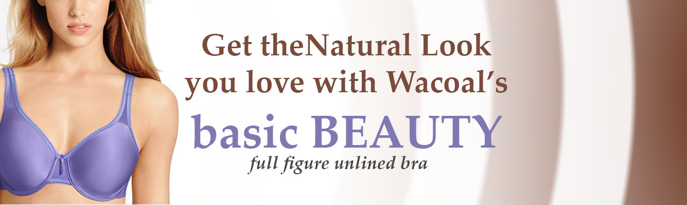 Basic Beauty at WacoalBras.com!