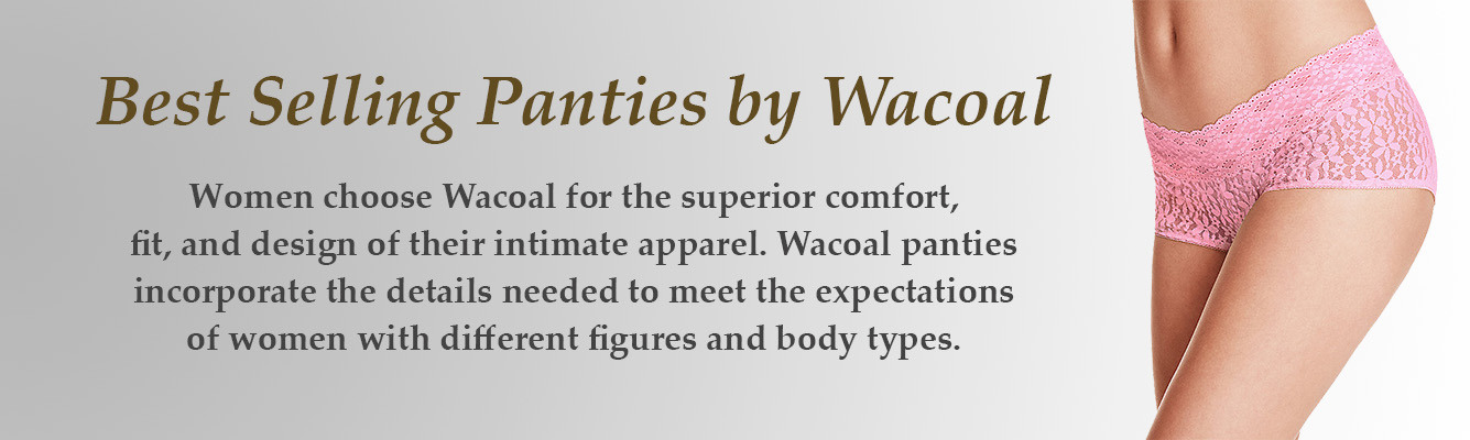 Best Selling Panties by Wacoal