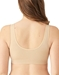 B-Smooth® Front Close Bralette in Sand, Back View
