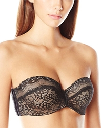 b.temptd by Wacoal b.enticing Strapless Bra in Night