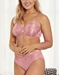 Wacoal Awareness Underwire Bra & Matching Panty in Ash Rose