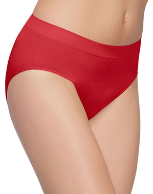 B-Smooth Seamless Brief in Barbados Cherry